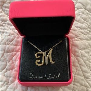 Jewelry - M Initial Necklace
